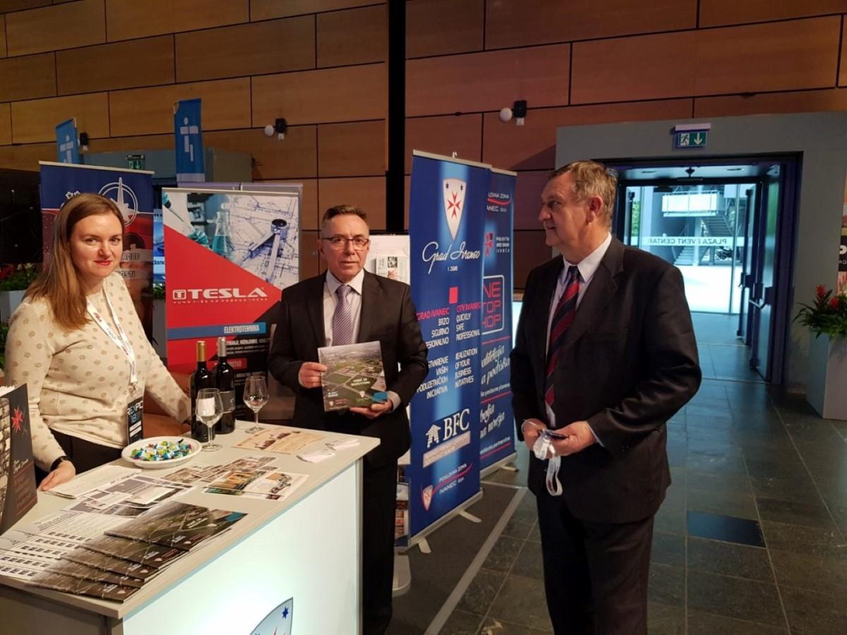 Tvrtka TESLA d.o.o. u suradnji sa Gradom Ivancom sudjelovala na Međunarodnom sajmu komercijalnih investicija REXPO